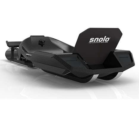 Carbon Fiber Snowmobile #SnoloStealth #Snowmobile #Xmas