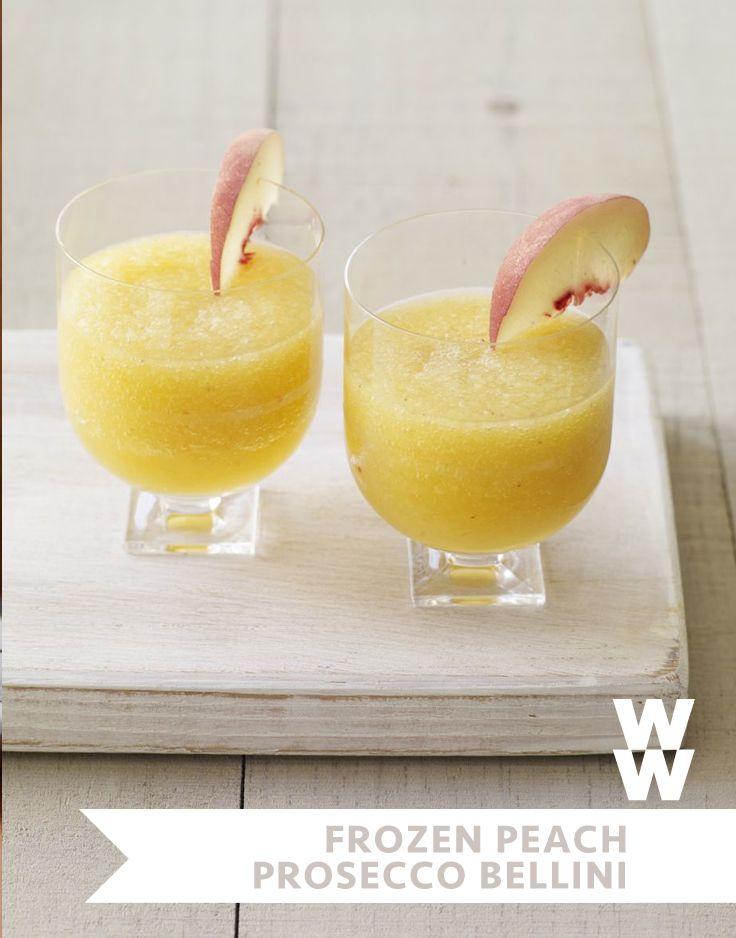 Frozen Peach and Prosecco Bellinis | Recipe | Cas, Italian cheese and ...