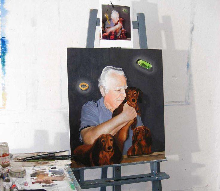 Portraitmalerei ab 199 EUR - Gemälde malen lassen nach Fotovorlage. Acrylbilder und Ölbilder vom Profikünstler. Handgemalte Museumsqualitätn - schnelle Lieferung