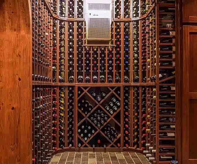 Wine Rack Storage & Cellar Design