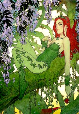 Poison Ivy on the variant cover of Batman vol. 3, #26 (Sept. 2017). Art by Joshua Middleton.