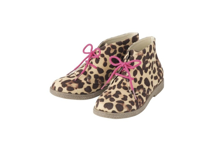 Girl's Leopard Boots - Marks and Spencer