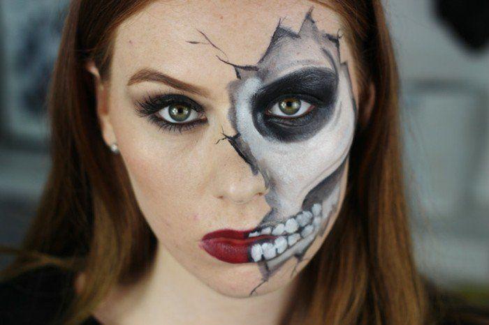 squelette, idée deguisement halloween très simple, diy, squelette, idée originale