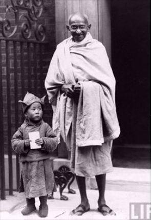 Ghandi and Dali Lama