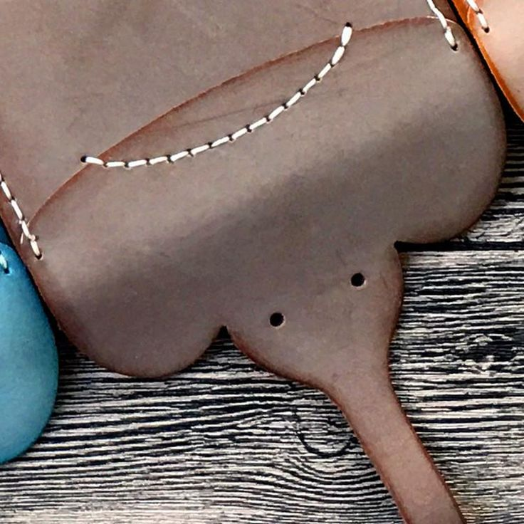 DIY Kit Hand Stitched Leather Card Wallet Handmade Elephant Coin Wallet Purse Wallet Gift For Girls Women