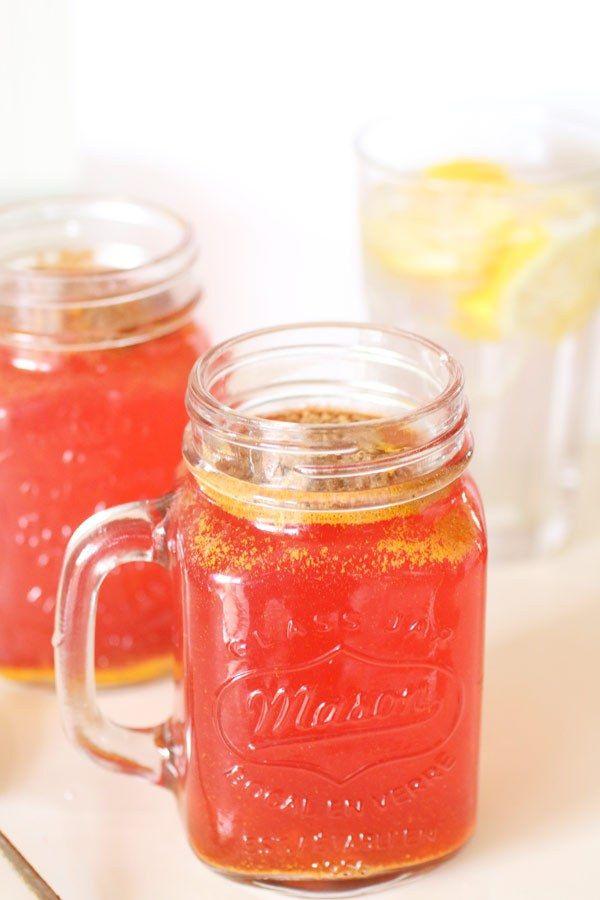 Bevanda Detox con Zenzero, Limone e Tè Verde   Dolce Senza Zucchero
