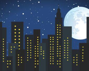 Backdrop Full Moon Sky 6 Ft X 6 Ft Vinyl Backdrop for Super