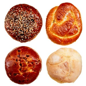 Classic Burger Buns and Breads