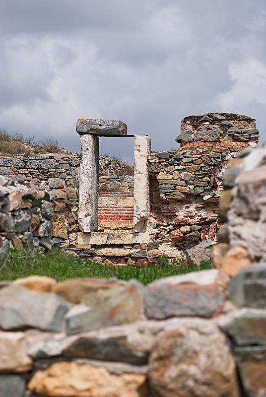 Histria, the Ancient Greek fortess, Constanta, Romania