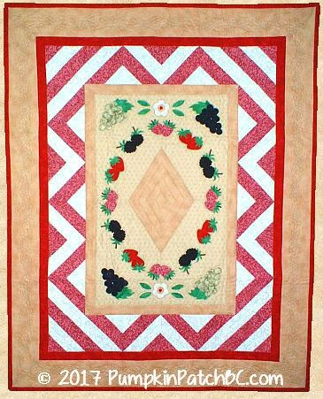 A Very Berry Garden Wall Hanging PPP009-EIN