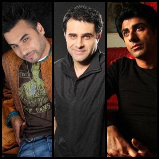 #instacollage celebrities @ameetchana @rezkempton and #AceBhatti #actors #movies #film #theatre #television #british #asian