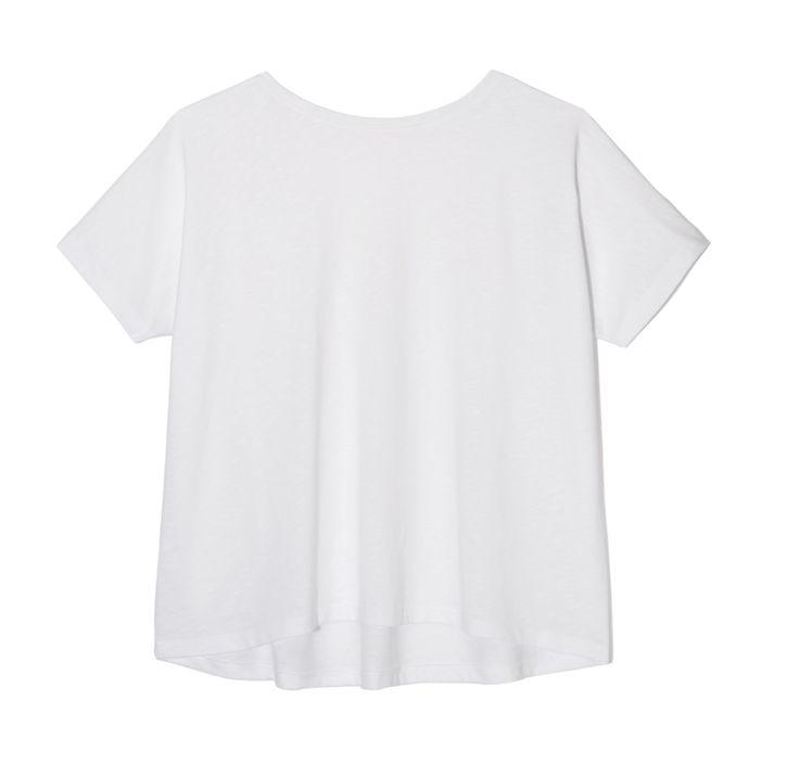 THE ODDER SIDE T-shirt with open back.  Shop at www.theodderside.com