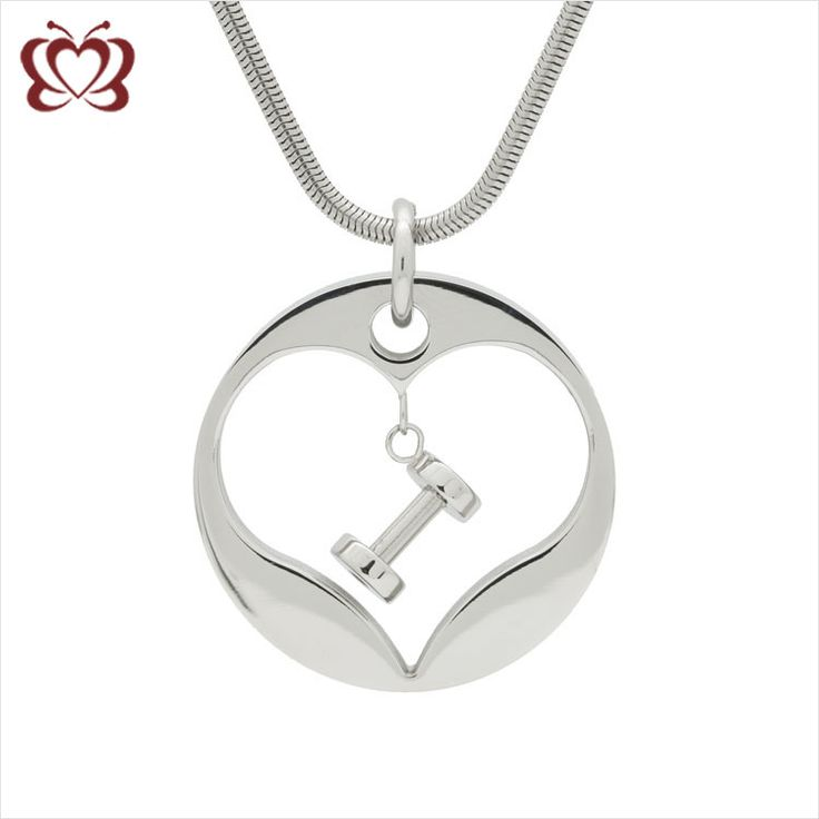 product zestto stainless necklaces with fitness charm necklace