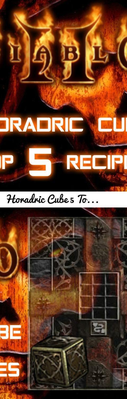 Horadric Cube 5 Top Recipes - Diablo 2 - Xtimus... Tags: