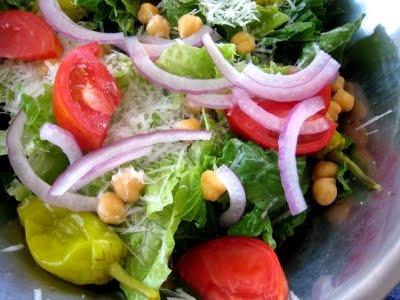 ChiChi's Italian Salad - YUM this looks like Olive Garden's salad!