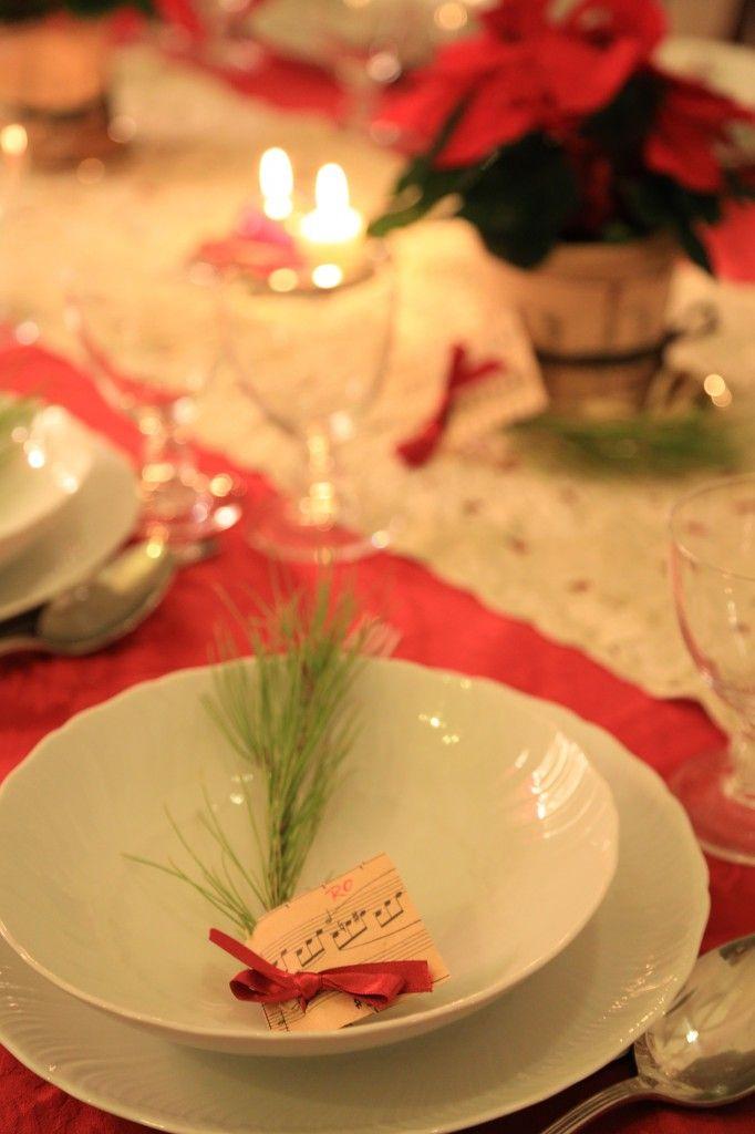 Le 25 migliori idee su la tavola di natale su pinterest - La tavola di melusinda ...