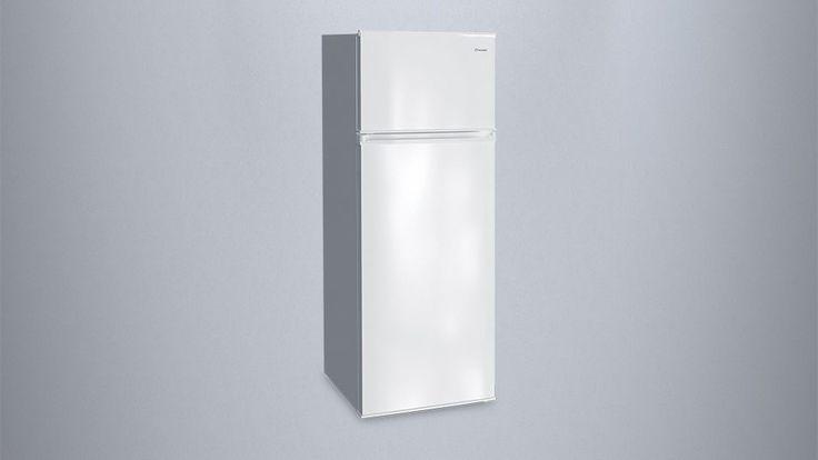 Δίπορτο ψυγείο 207 λίτρων της Inventor με Ενεργειακή Κλάση A++ για μέγιστη εξοικονόμηση ενέργειας, χαμηλή δημιουργία πάγου & μοντέρνο design σε ασημί χρώμα!