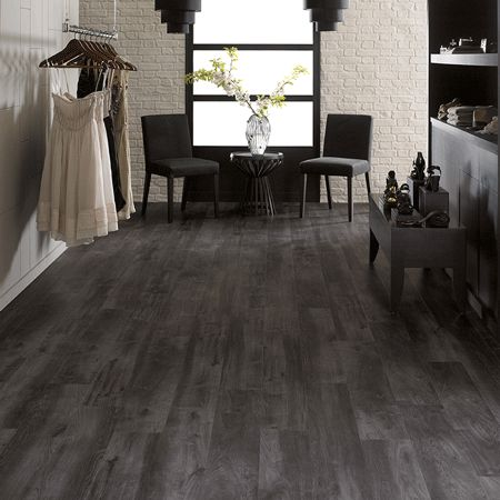 Van Gogh Ebony Wood Effect Flooring Karndean