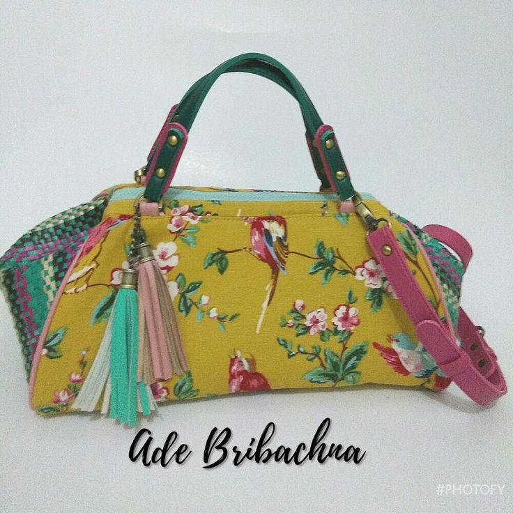 made by ade bribachna handmade Pandanus doctorbags