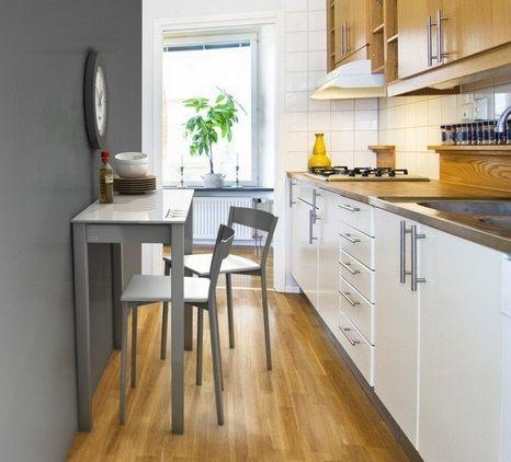 M s de 25 ideas fant sticas sobre casa peque a rectangular for O kitchen mira mesa