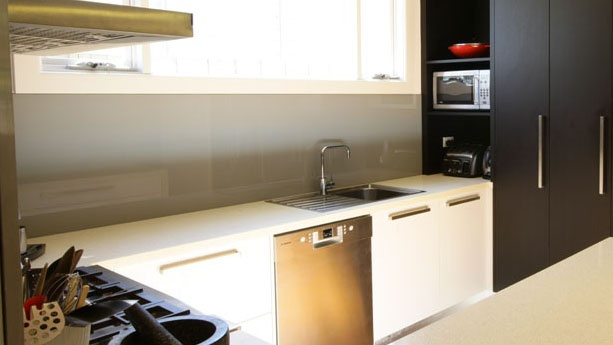 Splashback in kitchen renovation
