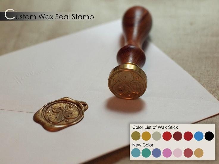 Seal And Send Wedding Invitations Diy: Www.etsy.com, Custom Classic Wax Seal Stamp Wedding