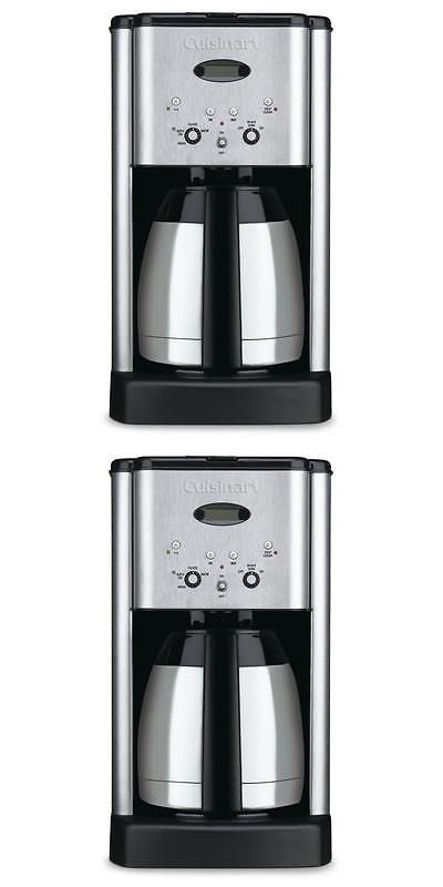 Coffee Makers Automatic 65635: Cuisinart Dcc-1400Fr Stainless Steel 10-Cup Thermal Coffee Maker (Refurbished) -> BUY IT NOW ONLY: $59.99 on eBay!