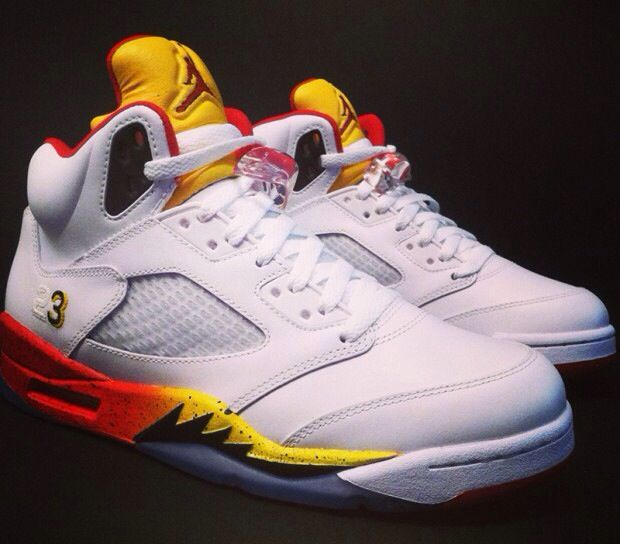 Air Jordan 5 Dwayne Wade PE(player exclusive) Miami Heat