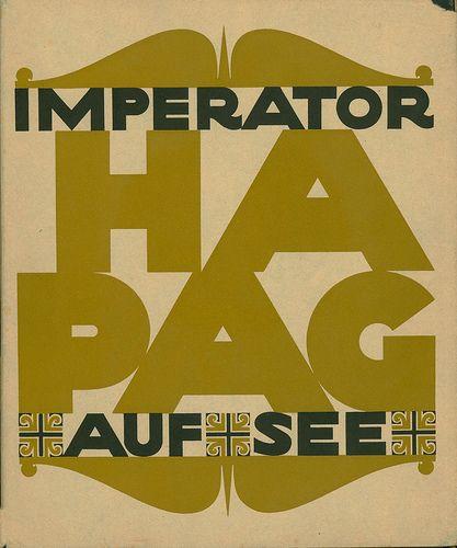 Hamburg Amerikanische Packetfahrt Actien Gesellschaft Literarisches Bureau Imperator Auf See