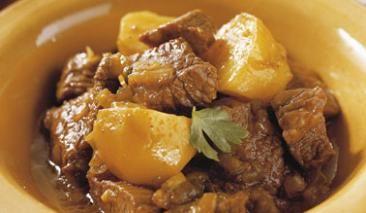 Sabroso cordero al Curry, recetas de la India