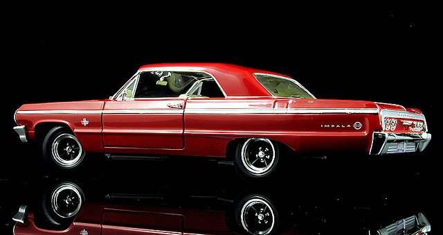1964 Chevrolet Impala SS 409 - A classic, and my uncles car. Still love seeing this vehicle on the streets