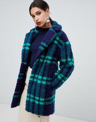 048644bff86 DESIGN check borg coat in 2019
