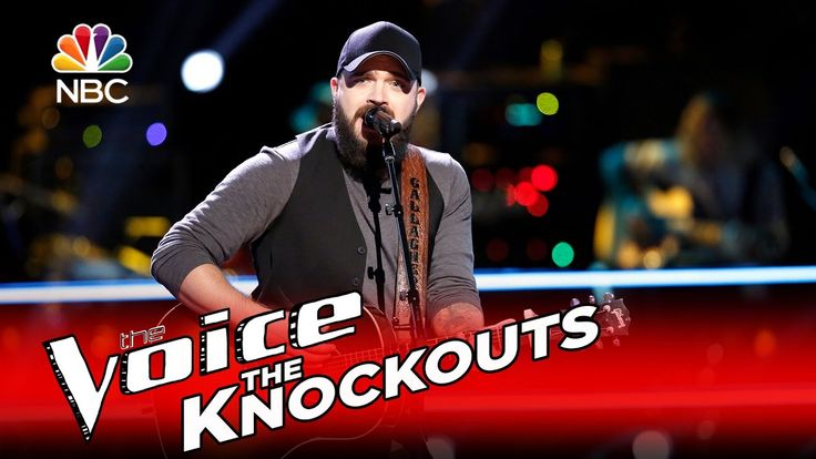"The Voice 2016 Knockout - Josh Gallagher: ""My Maria"""