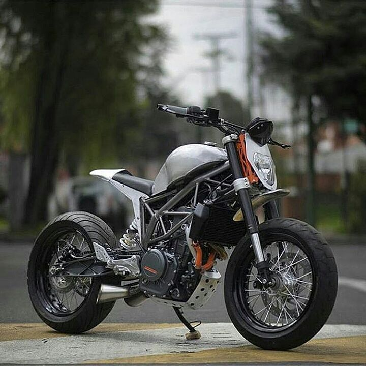 | KTM Duke 390  Smart customization  by holybikes