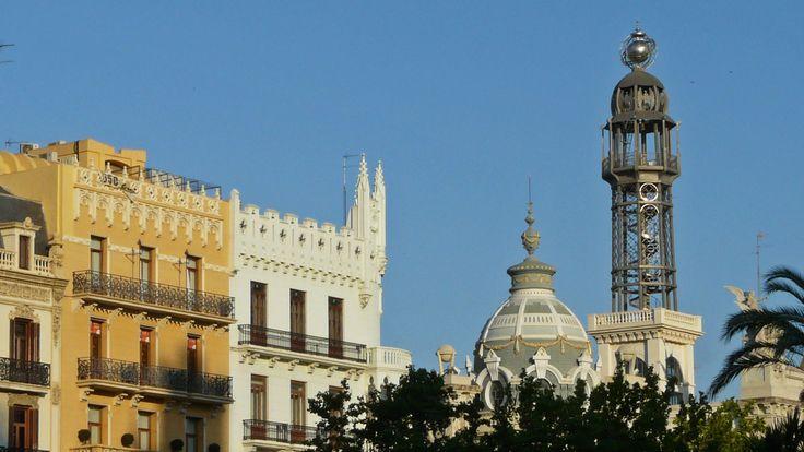 Plaza del Ayuntamiento. Valencia, Spain