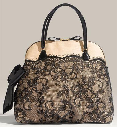 French Beauty Mark: Lace Handbags