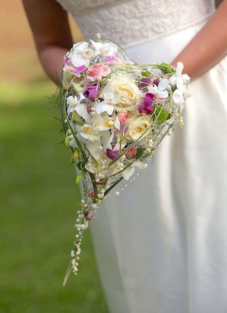 220 besten Heart Shaped Bouquet Bilder auf Pinterest