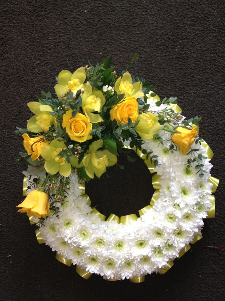 funeral flowers | Blocked Funeral Tribute Flowers