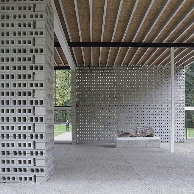 Gerrit Rietveld Pavillion at Kroller-Muller Museum