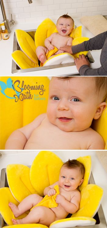 Blooming Bath - Canary Yellow