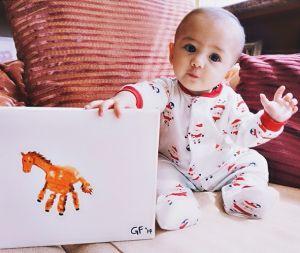Cute Handprint Horse Craft for Kids