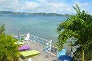 LES VILLAS OCEANES Les Villas Oceanes , les pieds dans l'eau , ca change tout - Location Appartement #Martinique #Robert