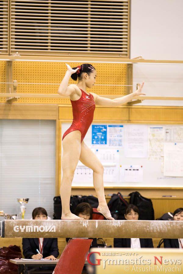 ジムノバ製の平均台 / リオ五輪代表合宿 女子1回目試技会レポート #体操 #リオ五輪