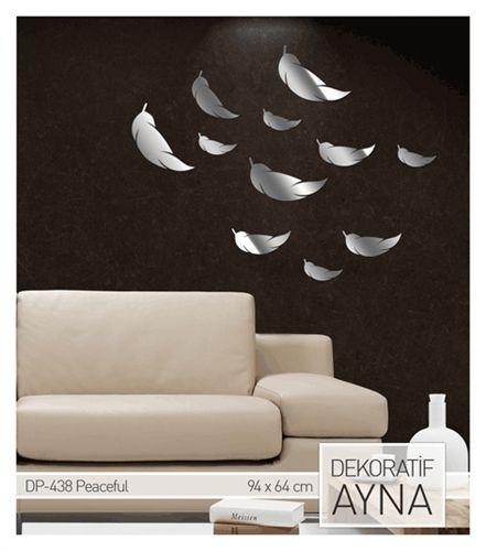 Peaceful Ayna Sticker 94,5X64,5 Cm Ürüne ulaşabileceğiniz adres:   http://www.artikeldeko.com.tr/?urun-824-peaceful-ayna-sticker-94-5x64-5-cm