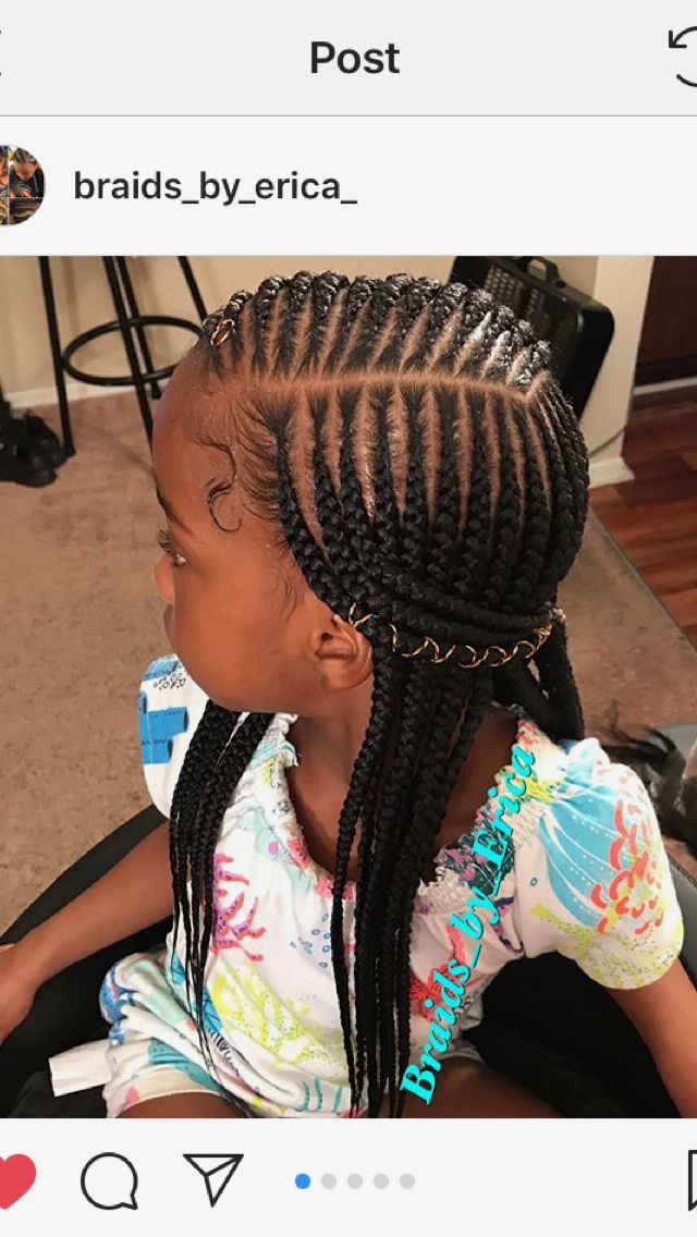 Pin By Star Everylove On Kid Braid Styles Black Kids