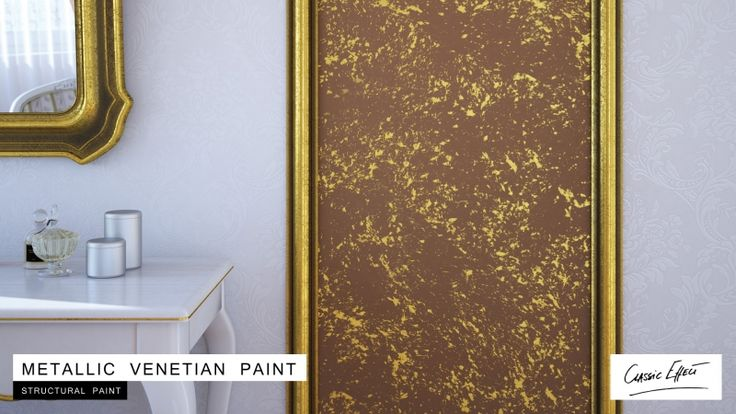 Zestaw do efektu dekoracyjnego - Cameleo - Metallic Venetian Paint - 5 m2