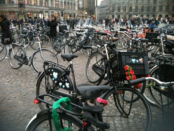 This is only 1/5000 of all the bikes in Amsterdam.