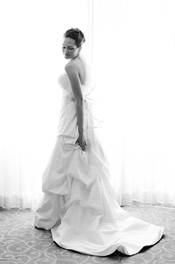 Modern Wedding Gown From A Hot Pink Green DC Designed By