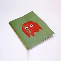 Pacman Yeşil Defter - #tasarim #tarz #yesil #rengi #moda #hediye #ozel #nishmoda #green #colored #design #designer #fashion #trend #gift yeşil tasarım
