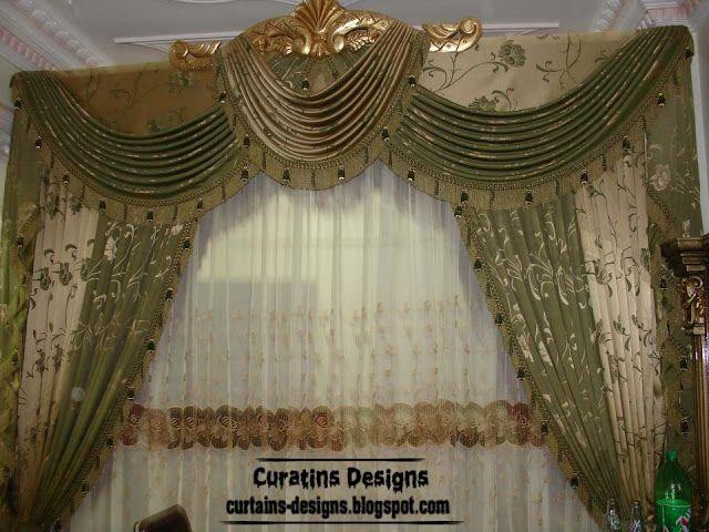 Luxury drapes curtain design